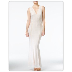 Cream Maxi Dress by Guess