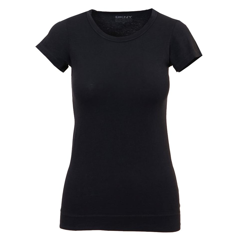 Dkny cotton spandex t shirt midnight blue 46 off retail for Cotton and elastane t shirts