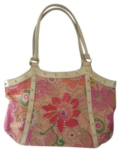 Sax Original Tote in Pink Multi Colored