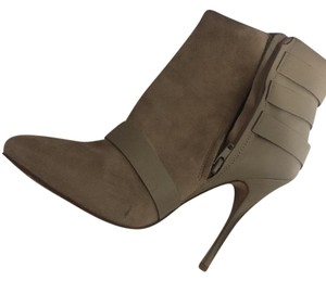 ALDO Ankle Trendy Suede Buckle taupe Boots