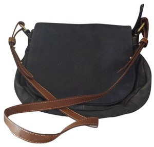 Coldwater Creek Denim Messenger Bag