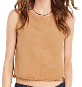 Urban Outfitters Suede Faux Suede Crop Top