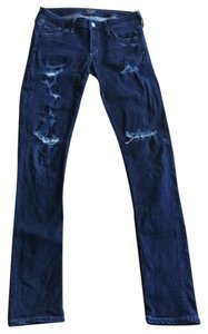 Citizens of Humanity Distressed Distroyed Skinny Jeans-Distressed