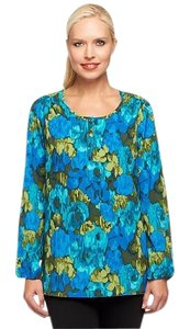 Liz Claiborne Top Blue