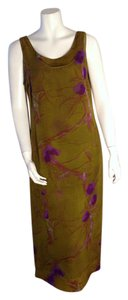 Olive Maxi Dress by Helene Blake Maxi Floral