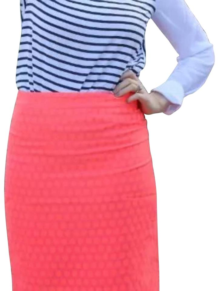 34d5c82363 J Crew Printed pencil skirt red polka dots blue Pencil skirts Printed