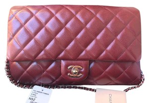 Chanel Burgundy Clutch