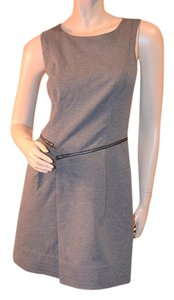 Shoshanna short dress gray Rayon Fit And Flare Sexy on Tradesy