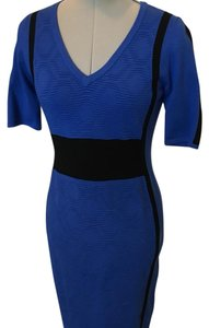 Karen Millen short dress Blue on Tradesy