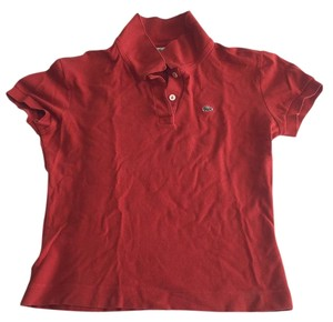 Lacoste T Shirt Rust