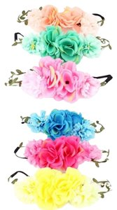 Other 6 Boho Chic Stretch Flower Headband Hair Accessory