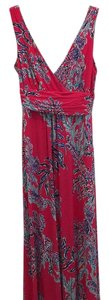 Pink, and blues Maxi Dress by Lilly Pulitzer
