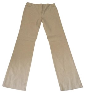 Max Studio Straight Pants Beige