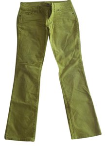 dELiA*s Boot Cut Pants Lime green/yellow