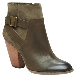 Sole Society Olive Booties Olive Boots
