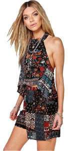 Other Matching Set Co-ord Set Patchwork Multi Halter Top
