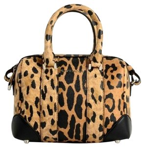 Givenchy Lucrezia Nwt Satchel in Leopard Print