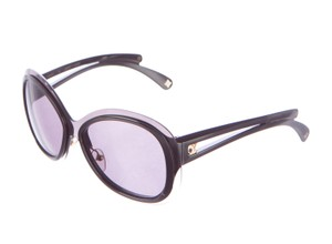 Louis Vuitton Black enamel Louis Vuitton Flore oversize sunglasses