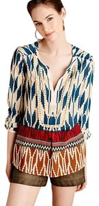 Anthropologie Embellished Top