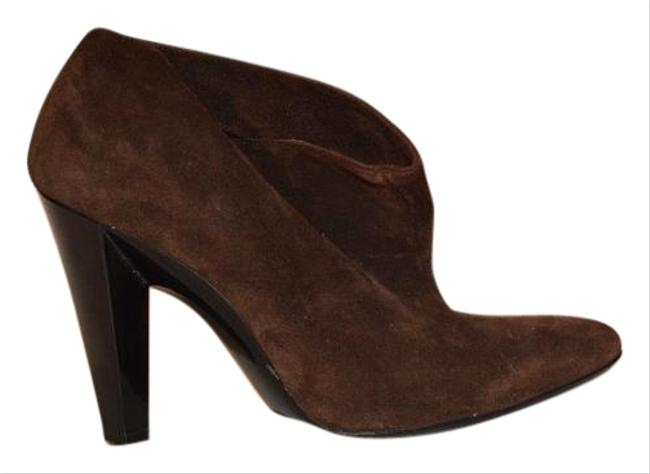 Item - Brown Suede Ankle Boots/Booties Size US 7.5 Narrow (Aa, N)
