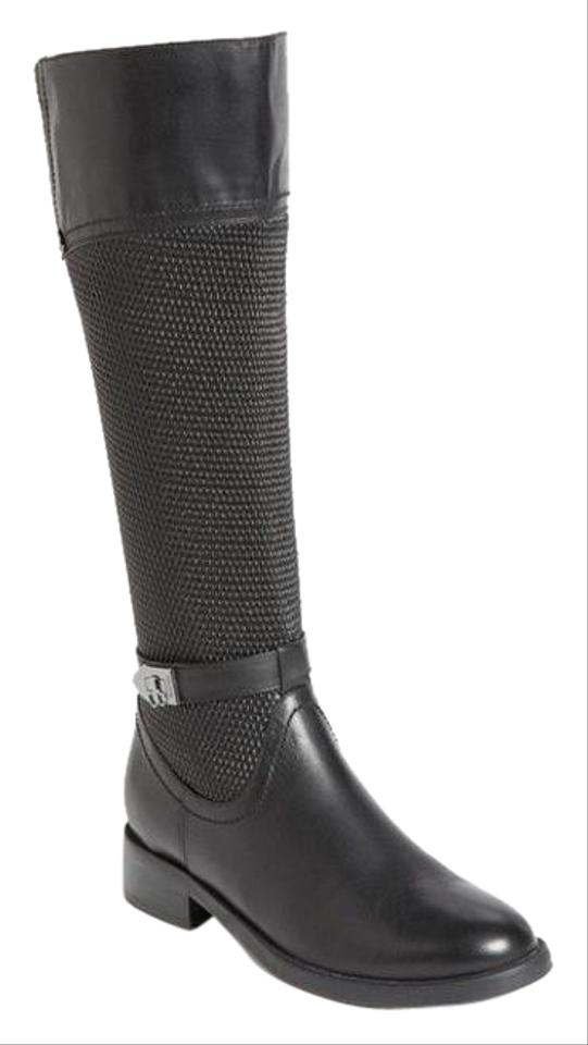 cf72c912124 Blondo Black Waterproof Leather Riding Boots Booties Size US 6 ...