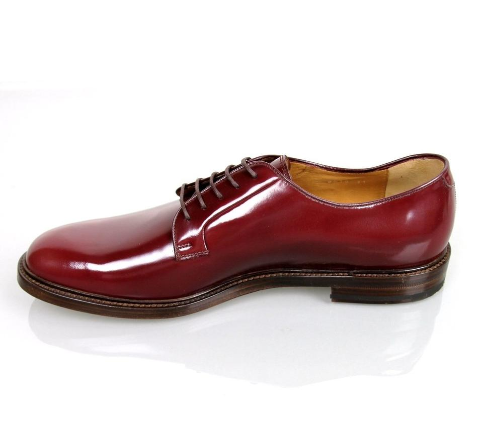 9659f03d608 Gucci Wine Red Men s Leather Lace-up Oxford 9.5  Us 10.5 295618 6083 Shoes.  12345678