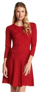 Nine West short dress Red Sweater Knit on Tradesy