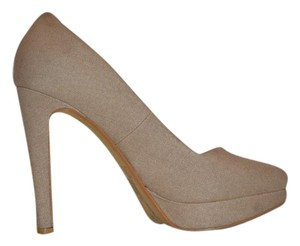 Diesel Beige Brown Pumps