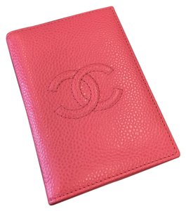 Chanel Chanel RARE Compact Card Holder- Pink Caviar