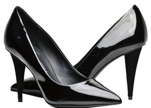 Giuseppe Zanotti Patent Leather Suede Black Pumps