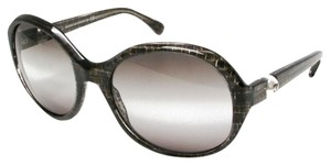 Chanel NEW Chanel Round Pearl Sunglasses CH 5211H c. 126341 in Gray Tweed
