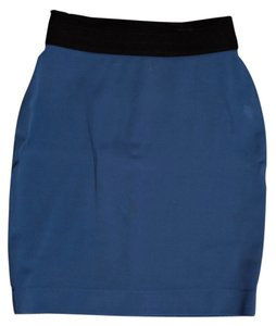 BCBG Max Azria Pencil Skirt Saphire Blue