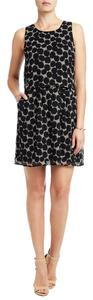 Lucky Brand short dress Black & White Polka Dot Silk Chiffon on Tradesy