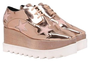 Stella McCartney Rose Gold Platforms