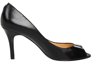 Ivanka Trump Pump Peep Toe Black Pumps