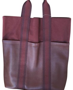 Herms Tote in Brick