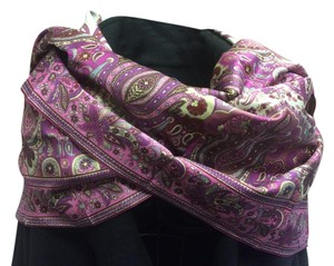 Etro Etro Scarf Women's Patterned Cotton Made in Italy