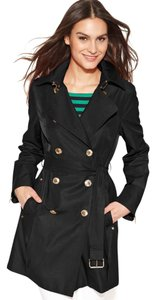 Michael Kors Belted Double Breasted Trench Coat