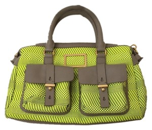 Marc by Marc Jacobs Satchel in Neon Yellow