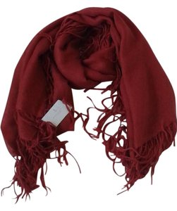 Brunello Cucinelli BRUNELLO CUCINELLI Cashmere Blend Scarf - Red