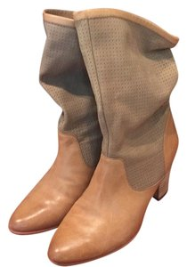 Rebecca Minkoff Natural leather, caramel nubuck Boots