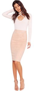Missguided Skirt Nude Blush