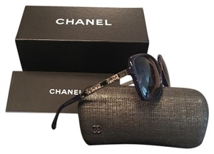 Chanel Limited Blue/w Crystals Chanel Sunglasses 5308-B c.1499/K4 57