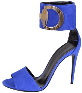 Gucci Heels Heels Blue Sandals