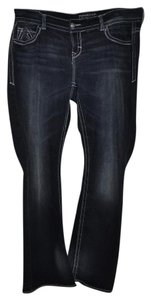 Maurices Boot Cut Jeans-Dark Rinse