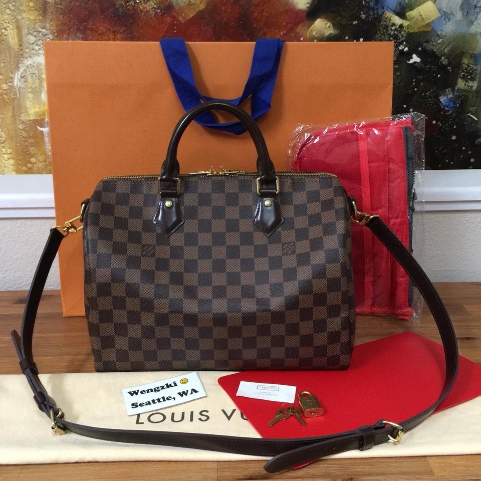384fa62cfc13 Louis Vuitton Like New Speedy Bandouliere 30 with Bonus Organizer ...