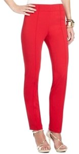 BCBGMAXAZRIA Skinny Pants Red
