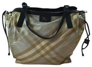 Burberry Nylon Large Tote in green