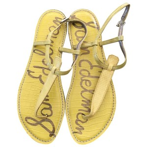 Sam Edelman Yellow Sandals
