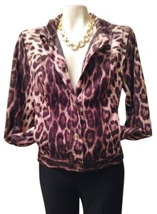 SPANNER Eco Suede Machine Washable Leopard brown/tan/black multi Jacket